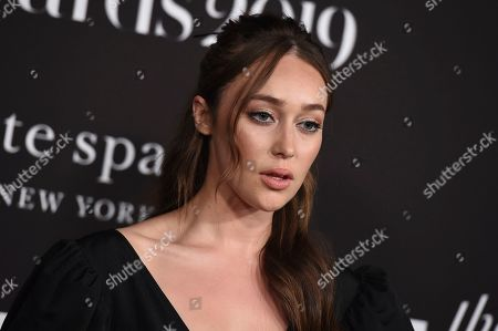 Alycia Debnam Carey arrives at the 5th annual InStyle Awards, at the Getty Center in Los Angeles
