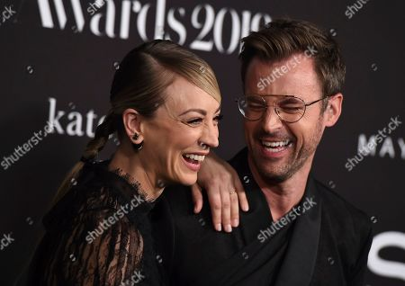 Kaley Cuoco, Brad Goreski. Kaley Cuoco, left, and Brad Goreski arrive at the 5th annual InStyle Awards, at the Getty Center in Los Angeles