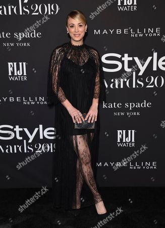 Kaley Cuoco arrives at the 5th annual InStyle Awards, at the Getty Center in Los Angeles