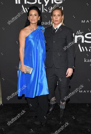 Ali Krieger and Ashlyn Harris