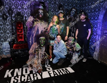 Editorial image of Celebrities at Knott's Scary Farm, Los Angeles, USA - 21 Sep 2019