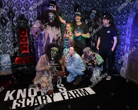 Editorial picture of Celebrities at Knott's Scary Farm, Los Angeles, USA - 21 Sep 2019