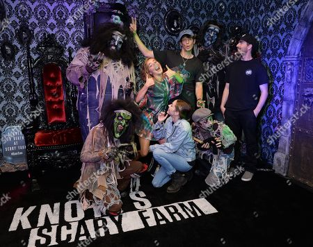 Editorial photo of Celebrities at Knott's Scary Farm, Los Angeles, USA - 21 Sep 2019
