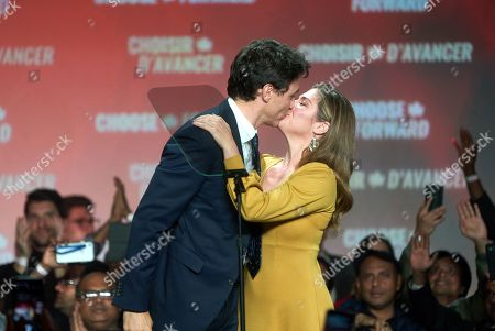 Editorial photo of Federal election in Canada, Montreal - 21 Oct 2019