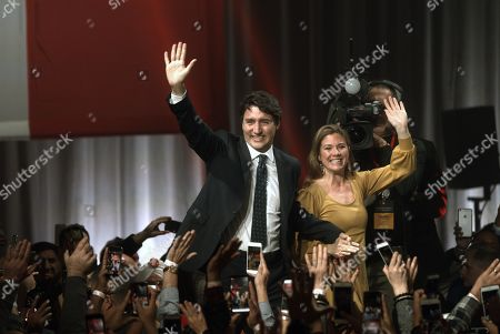 Editorial picture of Federal election in Canada, Montreal - 21 Oct 2019