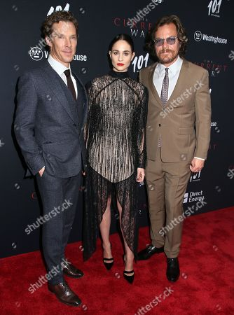 Benedict Cumberbatch, Tuppence Middleton and Michael Shannon