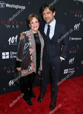 Alfonso Gomez-Rejon and mother