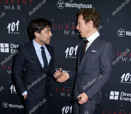 Benedict Cumberbatch and Alfonso Gomez-Rejon