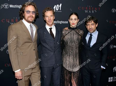 Michael Shannon, Benedict Cumberbatch, Tuppence Middleton and Alfonso Gomez-Rejon