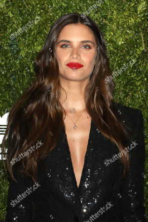 Sara Sampaio attends the God's Love We Deliver Golden Heart Awards at Cipriani South Street, in New York
