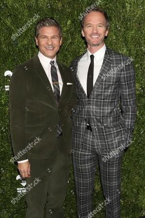 David Burtka, Neil Patrick Harris. David Burtka, left, and Neil Patrick Harris attend the God's Love We Deliver Golden Heart Awards at Cipriani South Street, in New York