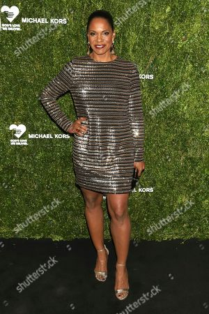 Audra McDonald attends the God's Love We Deliver Golden Heart Awards at Cipriani South Street, in New York
