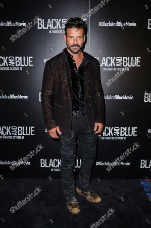 """Frank Grillo attends the special screening of """"Black and Blue,"""" hosted by Screen Gems and The Cinema Society, at the Regal E-Walk, in New York"""