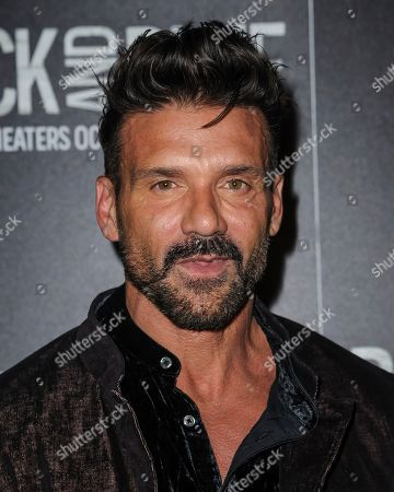 """Frank Grillo attends the special screening of """"Black and Blue"""", hosted by Screen Gems and The Cinema Society, at the Regal E-Walk, in New York"""