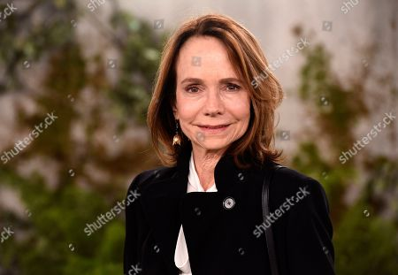 """Jessica Harper, a cast member in the Apple TV+ series """"See,"""" poses at the premiere at the Regency Village Theatre, in Los Angeles"""