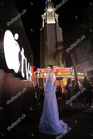 """Sylvia Hoeks at the """"See"""" Apple TV+ World Premiere Event at the Regency Village Theater in Los Angeles, California."""