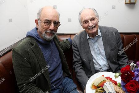 Richard Schiff and Alan Alda
