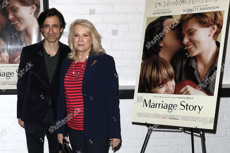 Stock Photo of Noah Baumbach (Writer, Director) and Candice Bergen