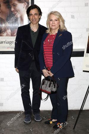 Noah Baumbach (Writer, Director) and Candice Bergen