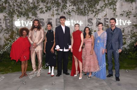 Editorial picture of 'See' TV show premiere, Regency Village Theatre, Los Angeles, USA - 21 Oct 2019
