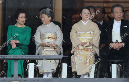 Editorial picture of Enthronement ceremony of Emperor Naruhito, Tokyo, Japan - 22 Oct 2019