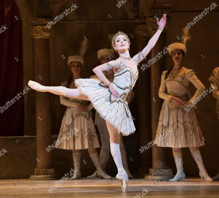 Stock Image of Sarah Lamb as Raymonda,