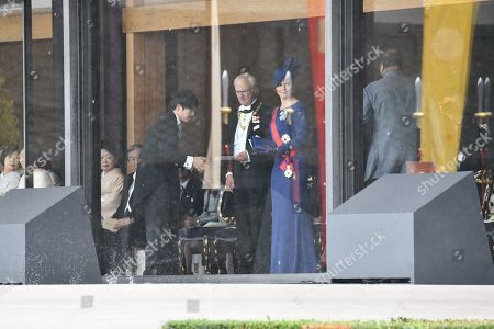 King Carl Gustaf of Sweden and Crown Princess Victoria of Sweden