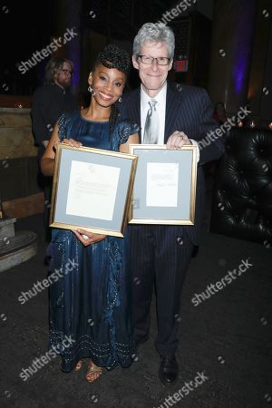Anika Noni Rose and Ted Chapin