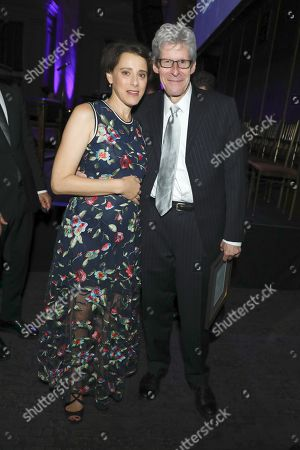 Stock Image of Judy Kuhn and Ted Chapin