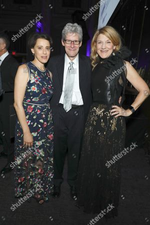 Stock Picture of Judy Kuhn, Ted Chapin and Victoria Clark