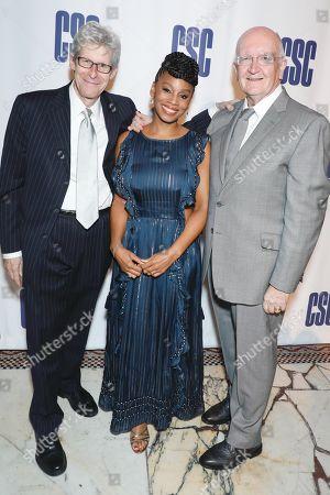 Ted Chapin, Anika Noni Rose and John Doyle