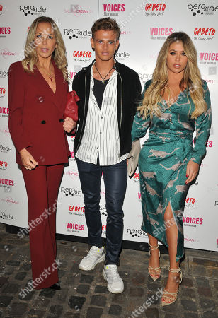 Stock Photo of Sheryl Gascoigne, Regan Gascoigne and Bianca Gascoigne