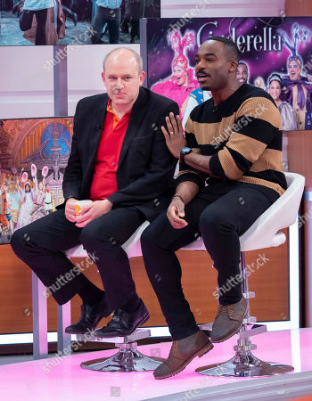 Tim Vine and Ore Oduba