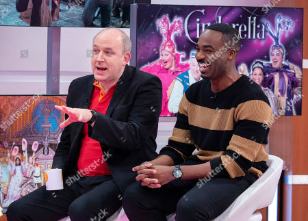 Stock Picture of Tim Vine and Ore Oduba