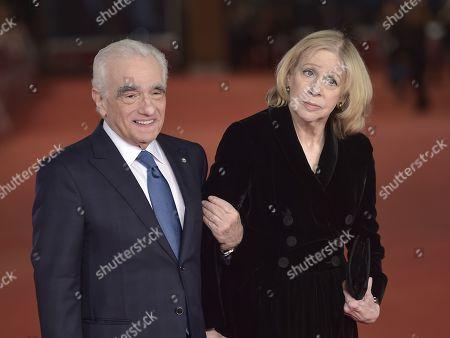 Martin Scorsese and wife Helen Morris