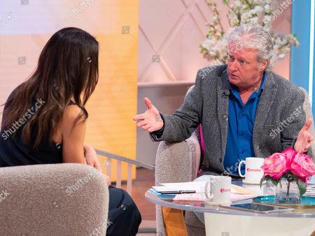 Editorial image of 'Lorraine' TV show, London, UK - 22 Oct 2019