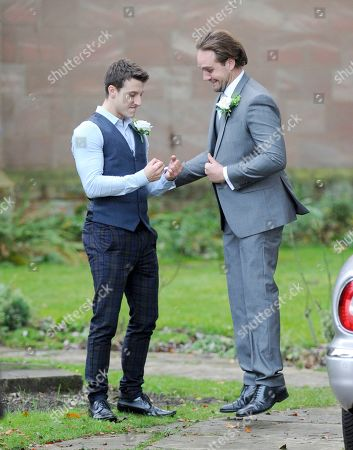 Stock Picture of Ryan Prescott and James Burrows.