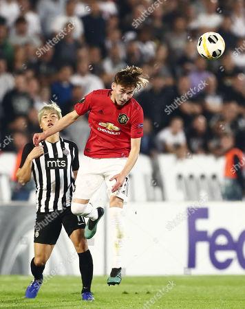 James Garner of Manchester United.