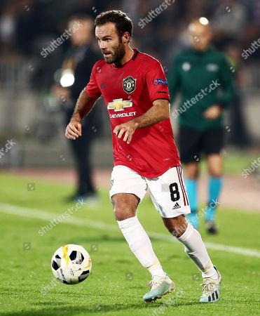Juan Mata of Manchester United.