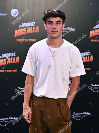 Oscar Casas poses during the presentation of the film 'Los Rodriguez y el Mas Alla' (lit. The Rodriguez family and the hereafter) in Madrid, Spain, 22 October 2019.