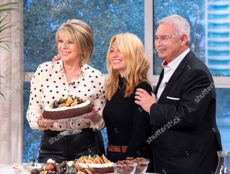 Stock Image of Clodagh McKenna, Eamonn Holmes and Ruth Langsford