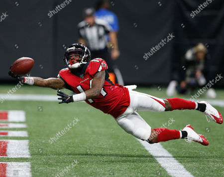 Editorial photo of Eagles Falcons Football, Atlanta, USA - 16 Sep 2019