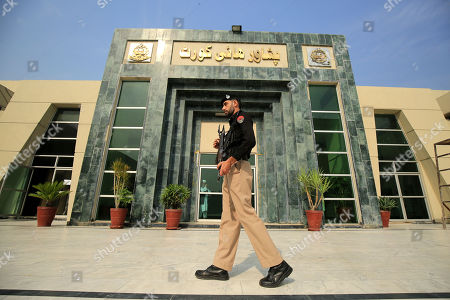 Editorial image of Case hearing of Bin Laden's doctor in Peshawar High Court, Pakistan - 22 Oct 2019