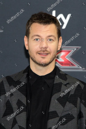 Editorial photo of X Factor Live presentation, Monza, Italy - 22 Oct 2019