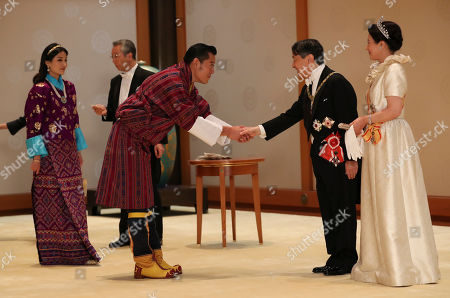 Majesty Queen Jetsun Pema Wangchuck, King Jigme Khesar Namgyel Wangchuck, Emperor Naruhito and Empress Masako