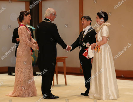 Editorial picture of Imperial State Banquet, Tokyo, Japan - 22 Oct 2019
