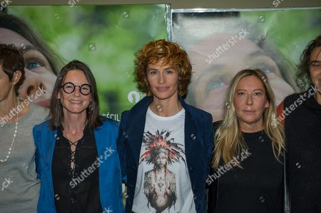 Stock Photo of Corinne Sombrun, Cecile de France, Fabienne Berthaud