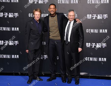 Jerry Bruckheimer, Will Smith and Ang Lee
