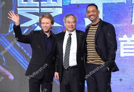 Jerry Bruckheimer, Ang Lee and Will Smith