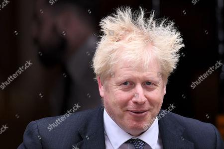 Prime Minister Boris Johnson leaving No.10 Downing Street, London.